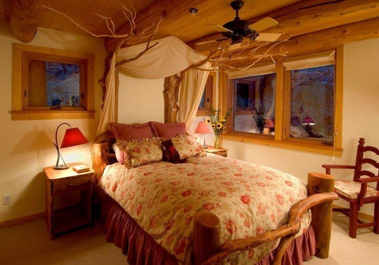 Decoracion r stica para los dormitorios juveniles con encanto for Dormitorios rusticos modernos