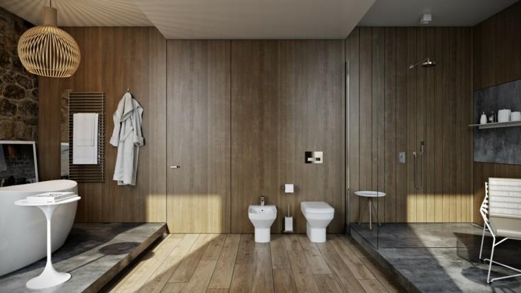 laminado madera suelo paredes plataformas