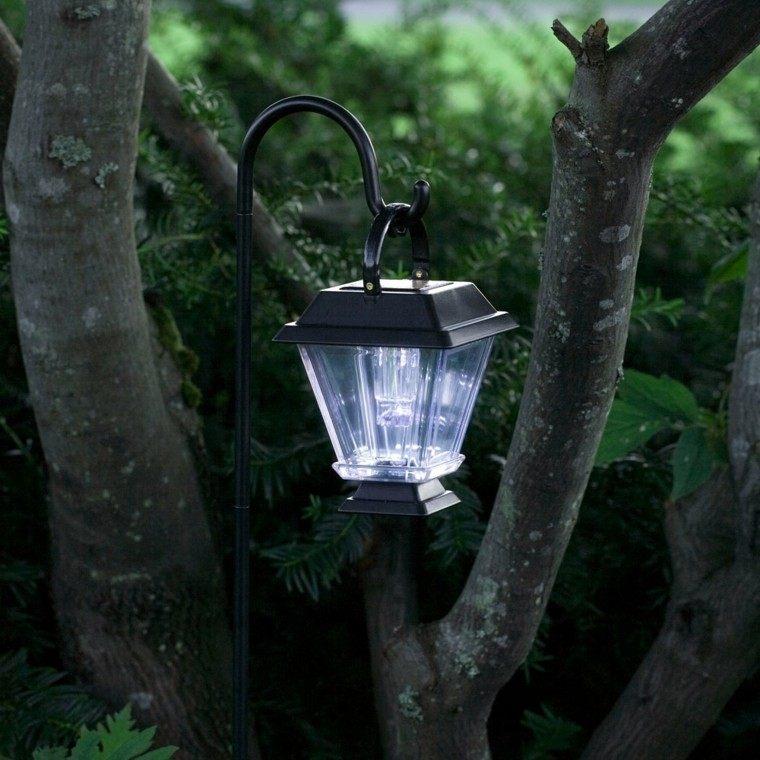lampara clasica decoracion arbol solar