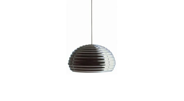 lampara colgante techo metálica