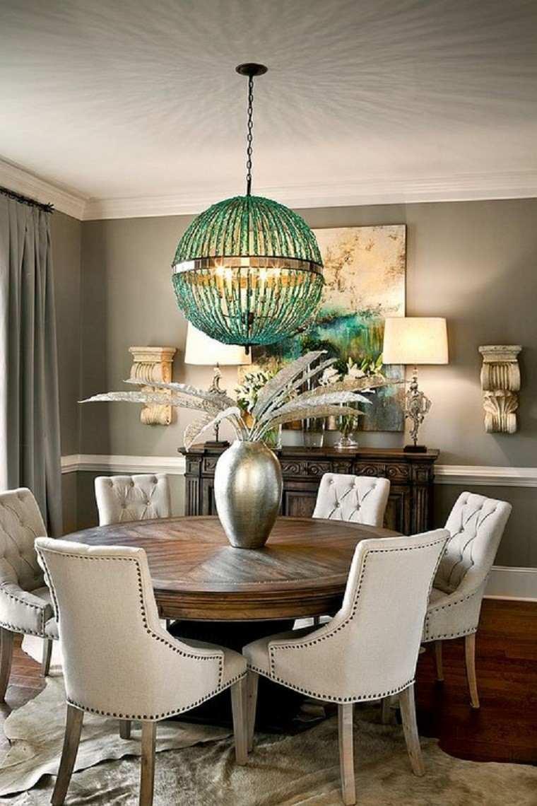 lampara metal jarron cortinas plantas