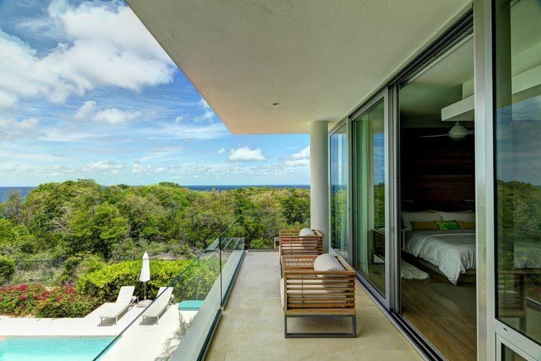 las terrazzas vista oceano butacas comodas ideas