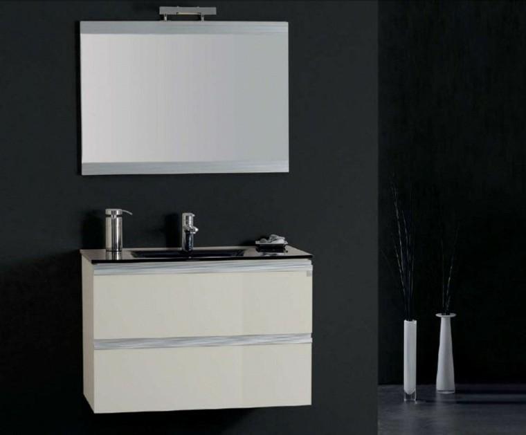 lavabo color blanco muebles baño baratos