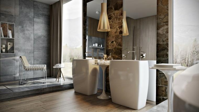 lavabos modernos mobiliario baño