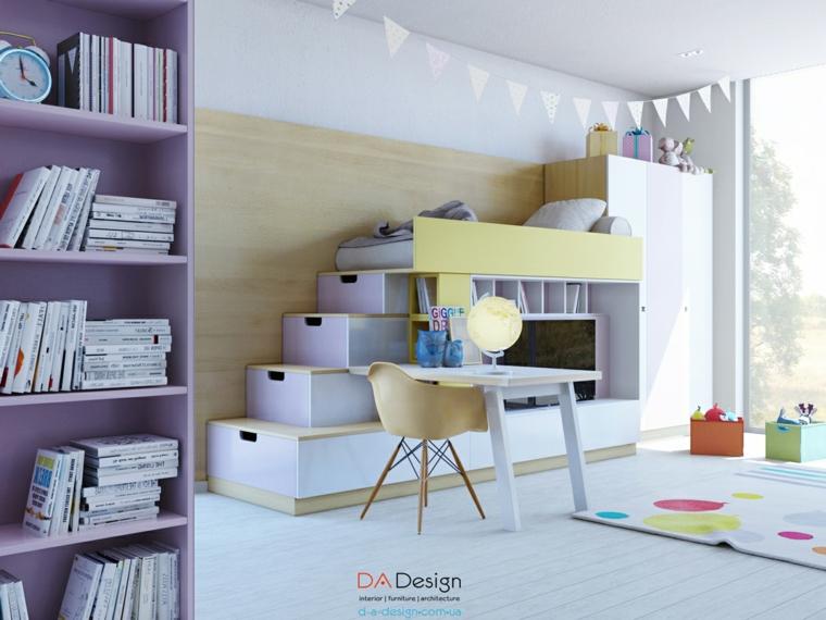 Dormitorios Juveniles Con Lo Ultimo En Tendencias - Diseo-dormitorios-juveniles