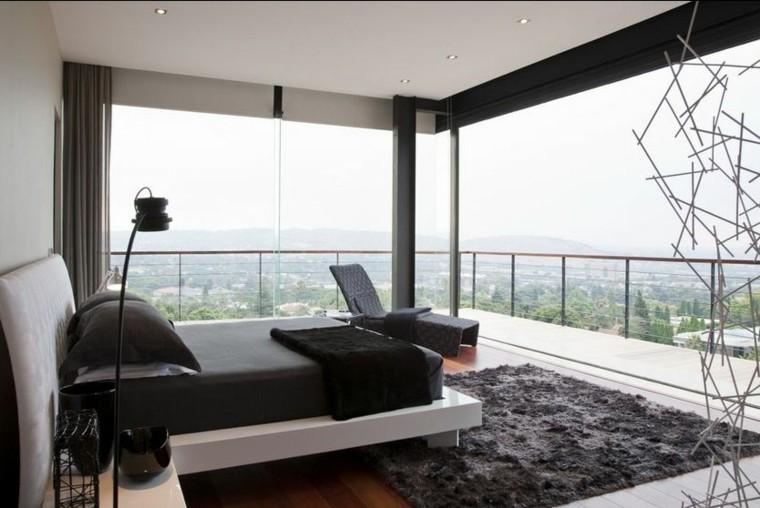 Habitaciones modernas para solteras y solteros.
