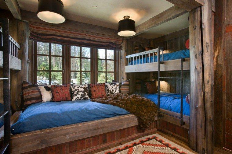 Habitaciones Decoracion Rustica ~ Decoracion rustica para los dormitorios juveniles