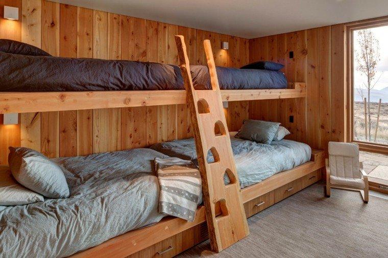 literas madera original escalera madera