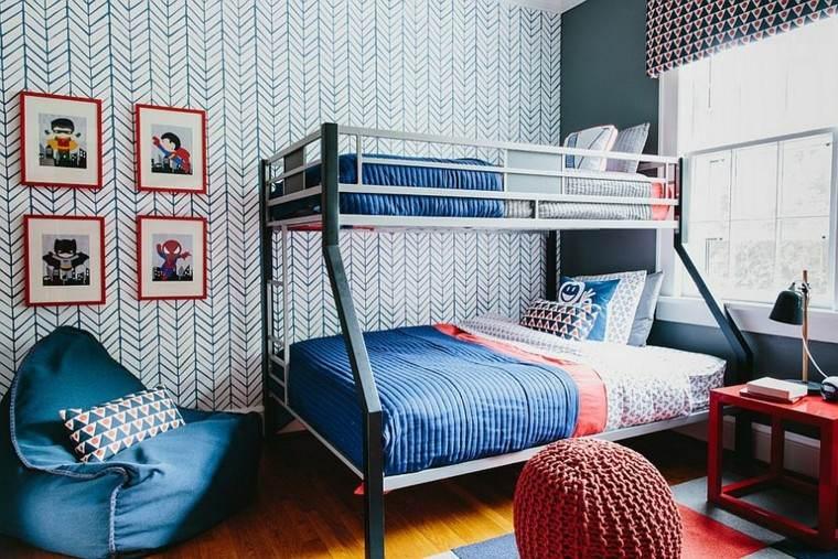 los colores ropa cama igual azul pared ideas