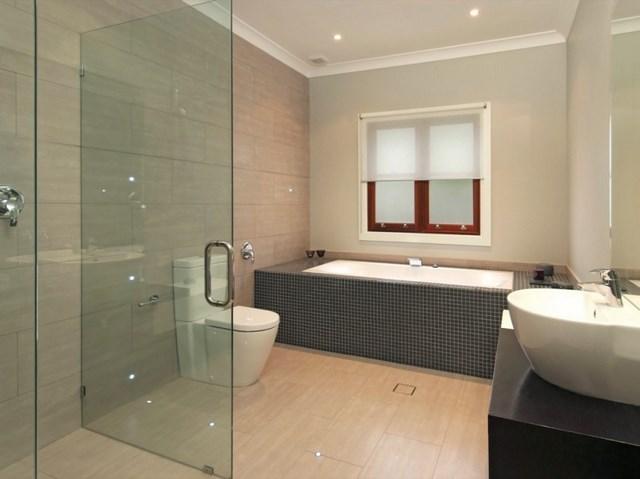 luces decoracion bañera lavabo cristal