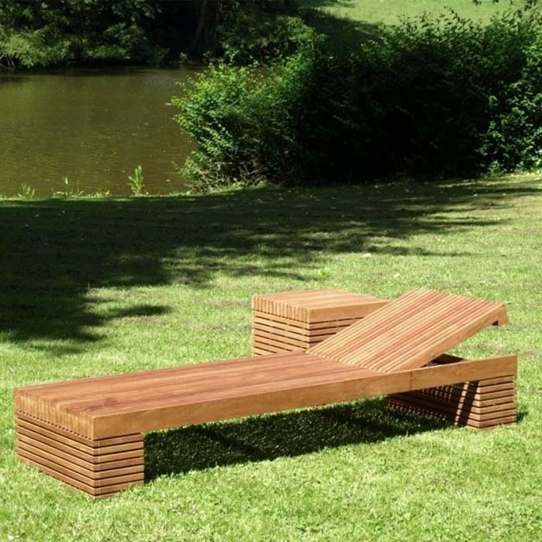madera arbol muebles lago mesa