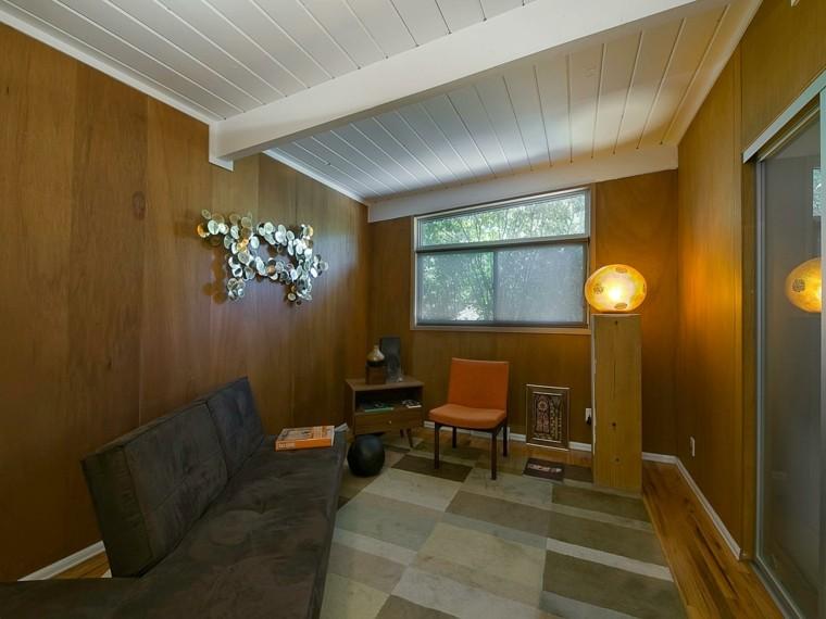 madera calido esfera lampara sofa