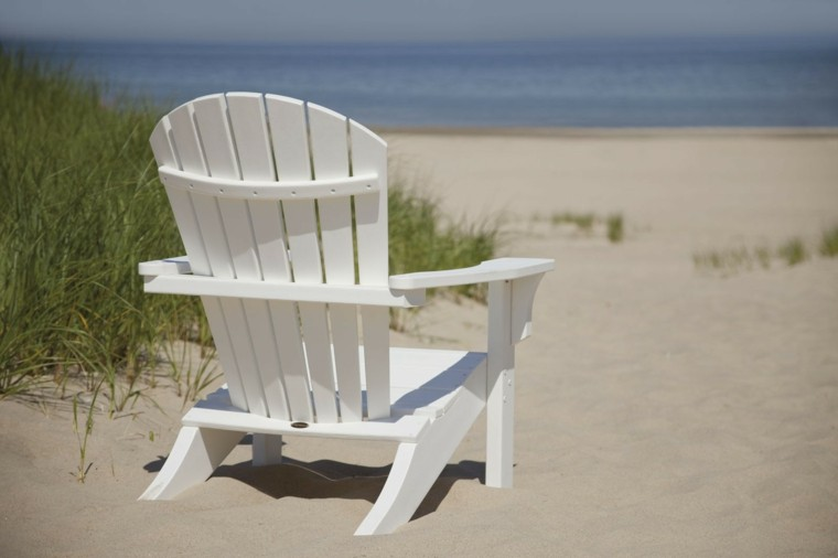 madera curva playa silla alta concha
