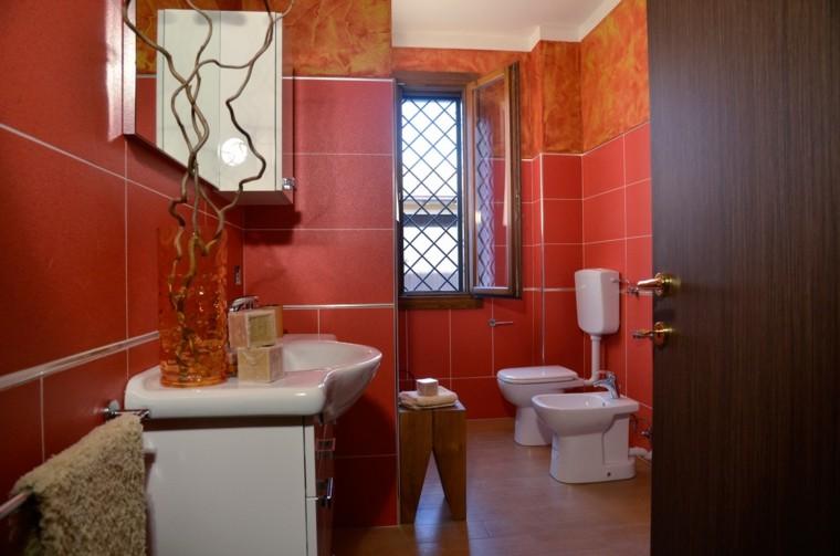 Baño De Color Rojo Intenso Mercadona:Decoracion baños pequeños y otras ideas a tu medida