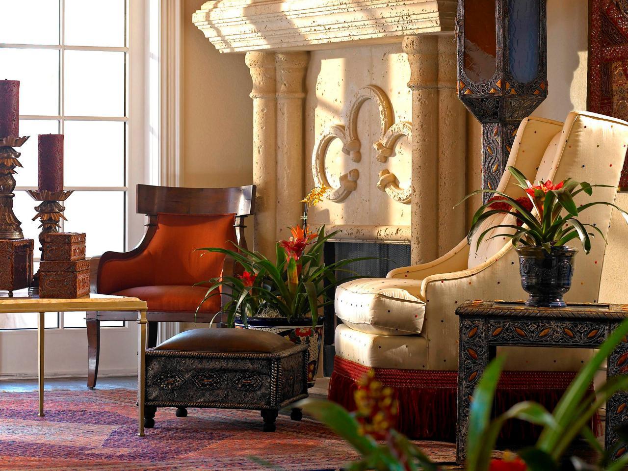 marruecos muebles velas rusticos ideas madera chimenea