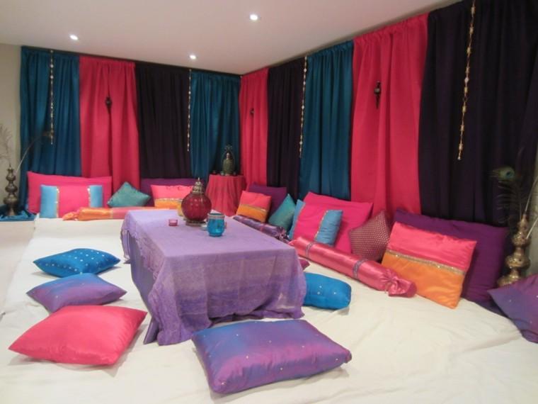 Marruecos inspira con estilo oriental para tu sal n - Cojines de salon ...