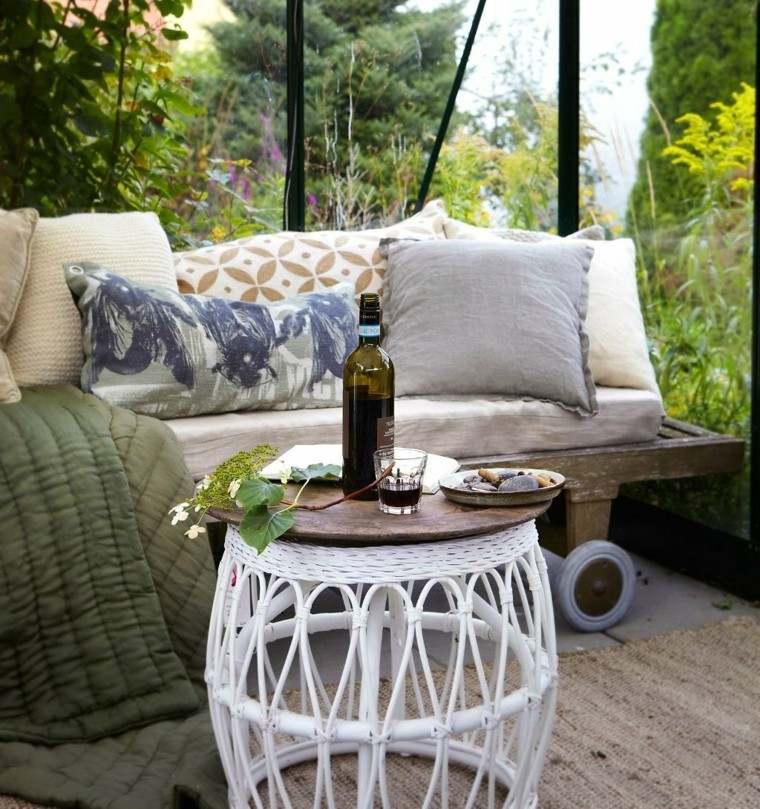 mesa idea original jardin verano blanca bonita