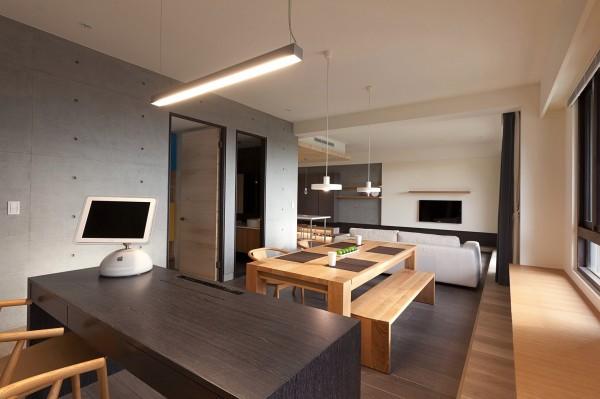 Mesas de cocina o comedor de dise o moderno tendencias Comedores en madera modernos
