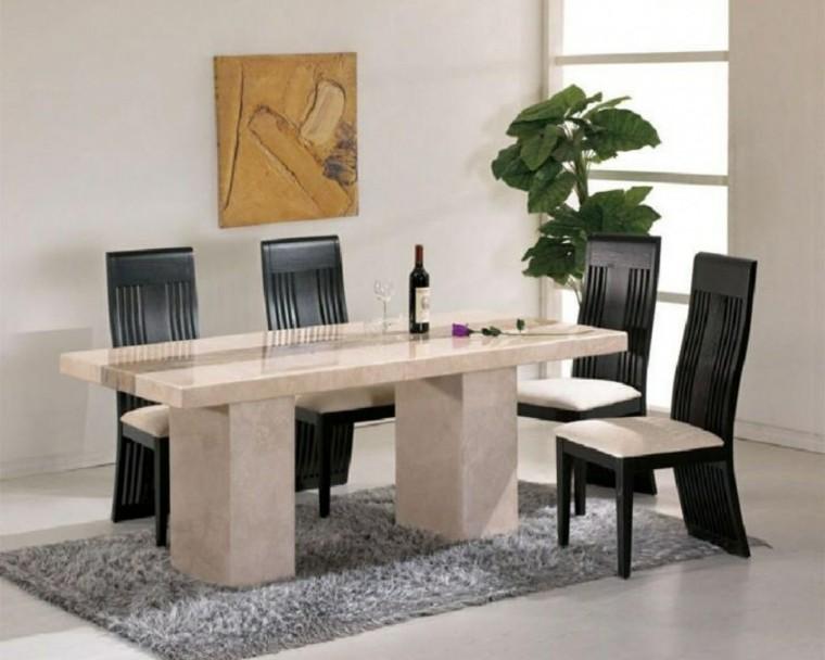 Mesas de comedor y sillas de comedor ideas excepcionales - Mesas de centro marmol ...