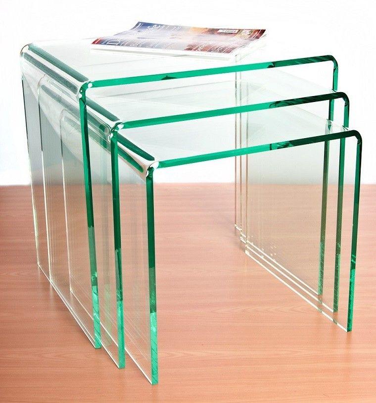 mesa niveles revista acrilico madera