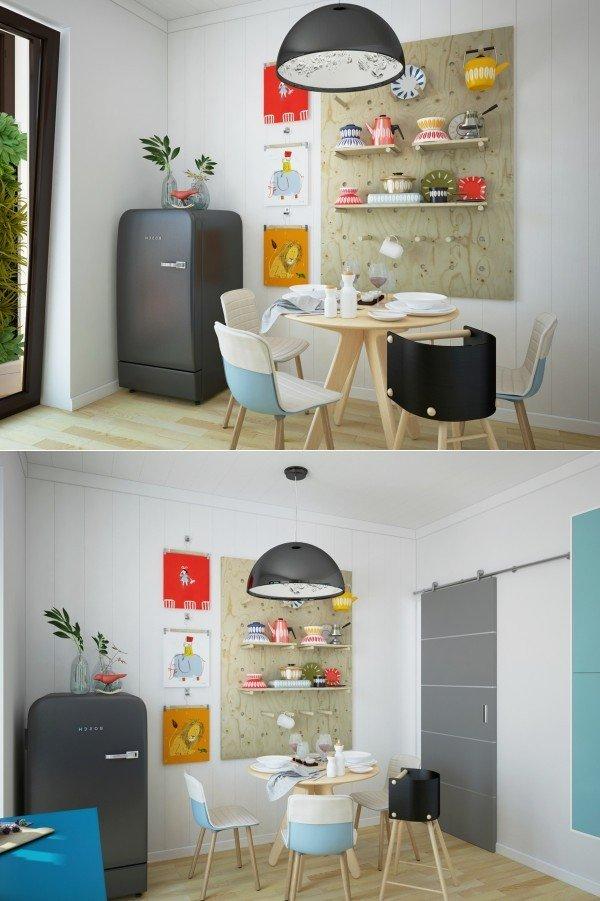 Mesas de cocina o comedor de dise o moderno tendencias for Ideas para cocina comedor pequenos