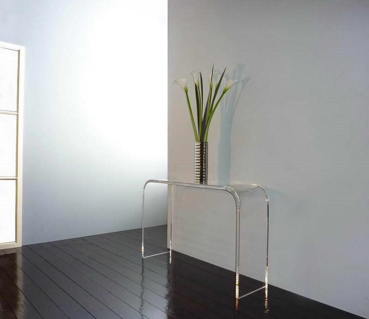 mesa planta madera suelo diseño