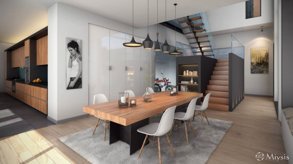 Mesas de cocina o comedor de dise o moderno tendencias - Mesa cocina diseno ...