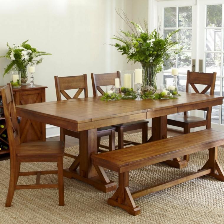 Mesas de comedor y sillas de comedor ideas excepcionales for Mesas de comedor grandes de madera