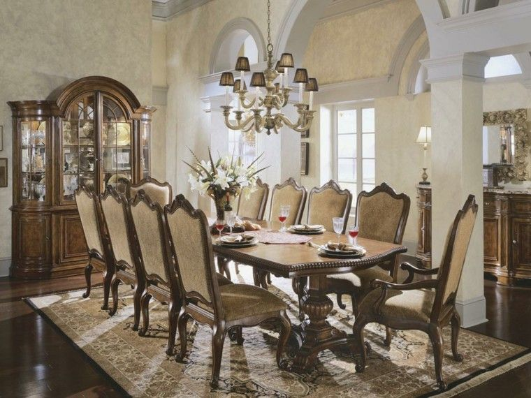 Comedor Estilo Clsico Pictures To Pin On Pinterest