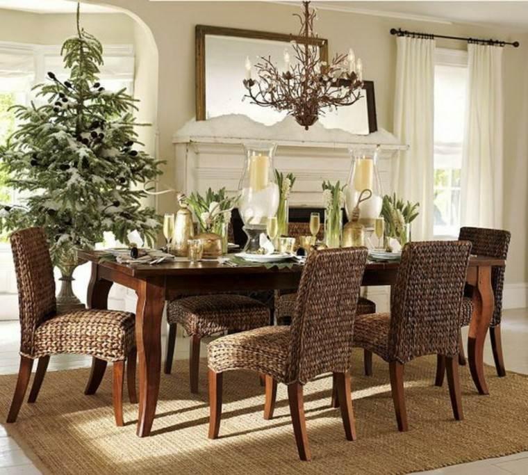 mesas de comedor sillas original bonitas clasico grande