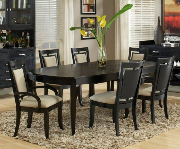 Mesas de comedor y sillas de comedor ideas excepcionales for Ver comedores modernos