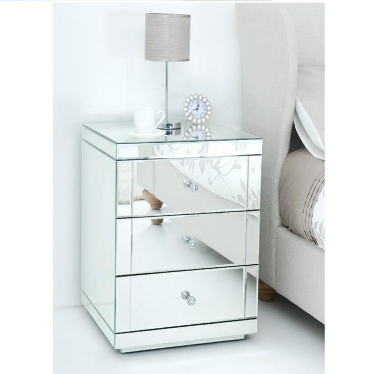 Espejos decorativos para dise os de muebles - Ikea mesillas y sinfonier ...