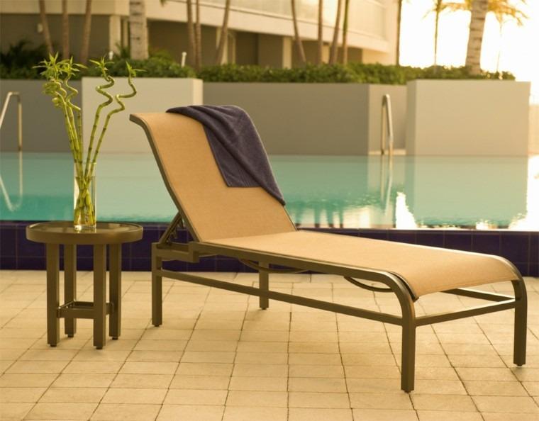 metal poliester piscina piso cubierta