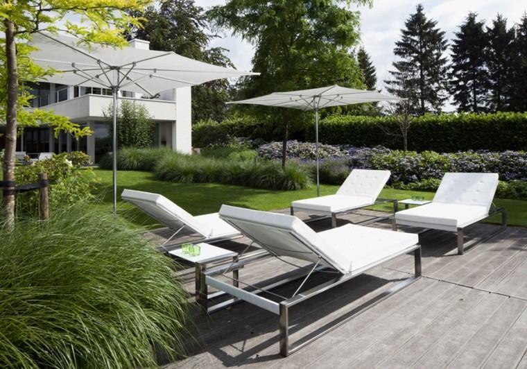 metal regulable acolchonada sombrilla patio