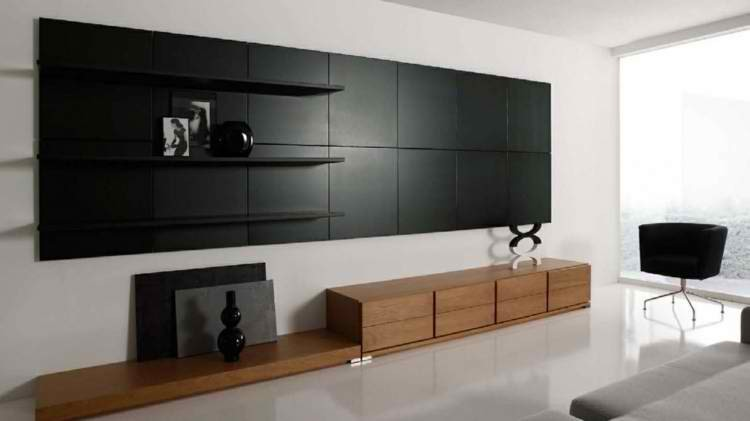 Salones modernos 50 ideas minimalistas incre bles for Muebles salon minimalista
