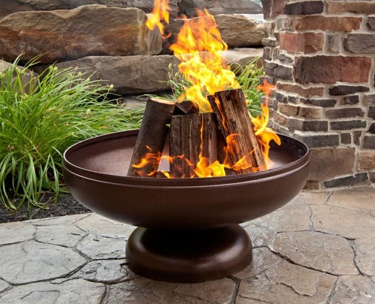 Mobiliario de jard n y pozos de fuego creativos - Mobiliario de jardin ...