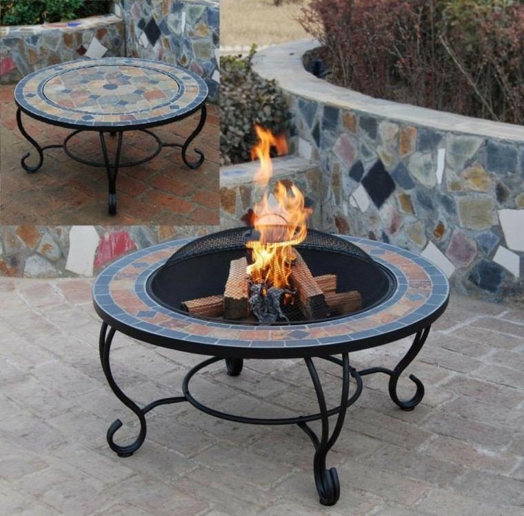 Mobiliario de jard n y pozos de fuego creativos - Mobiliario para jardin ...