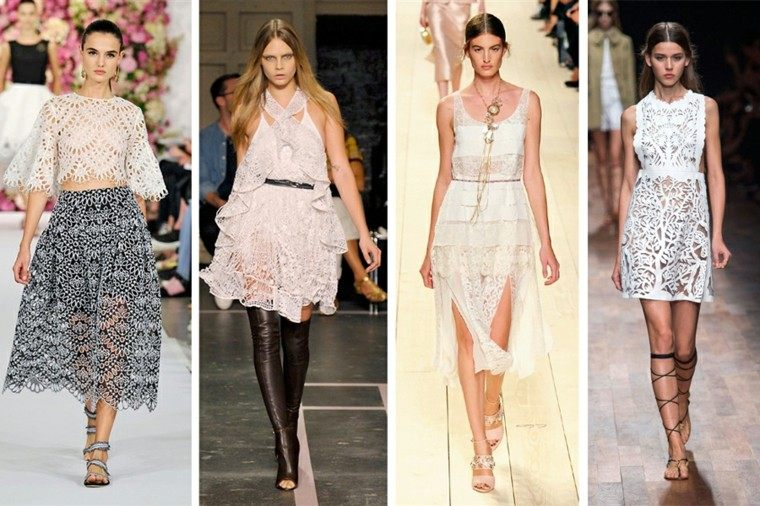 modelo cuatro la moda primavera