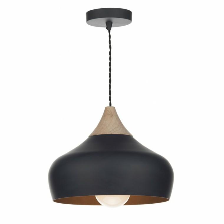 moderna lámpara color gris acero