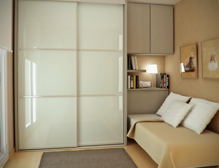 moderno dormitorio ropero color beige