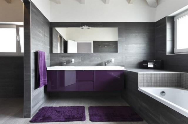 moderno gris toalla estilo mozaico