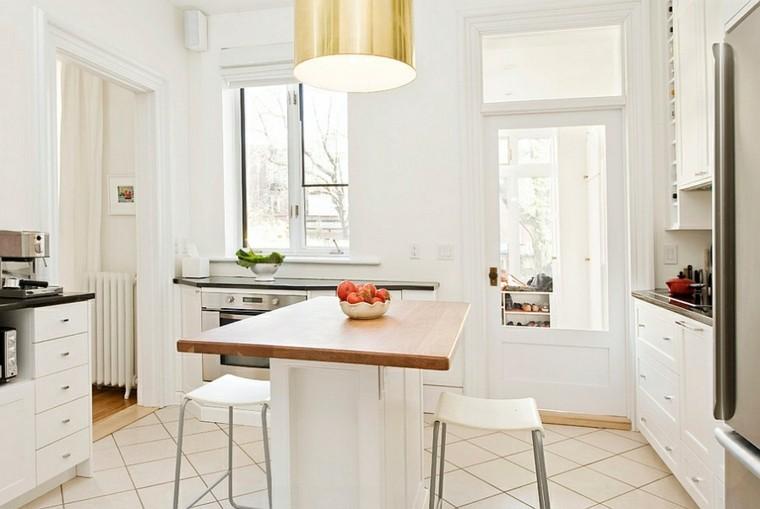 moderno madera luz sillas blanco