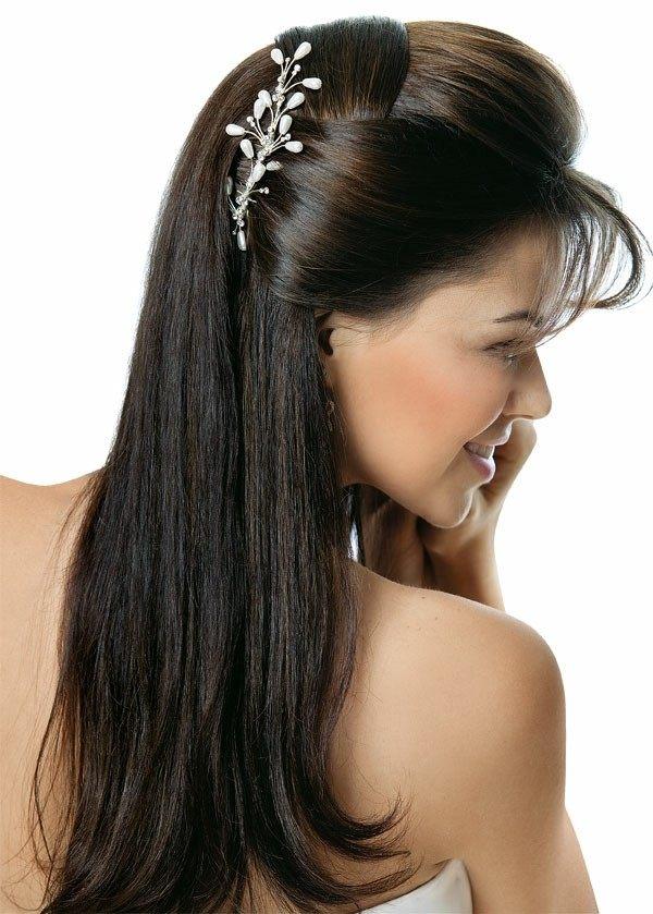 Peinados de novia con flequillo m s de 50 ideas - Peinados de novia con flequillo ...