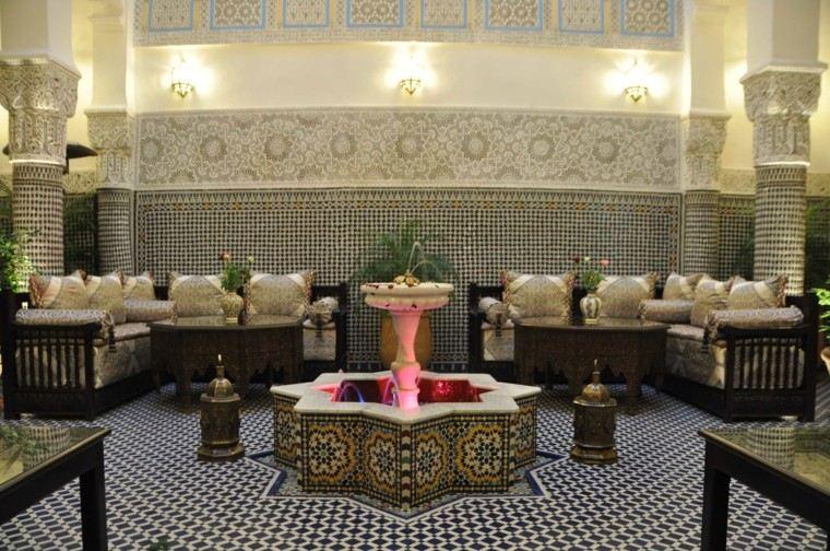 mosaico suelo pared ideas bonito estilo marroqui