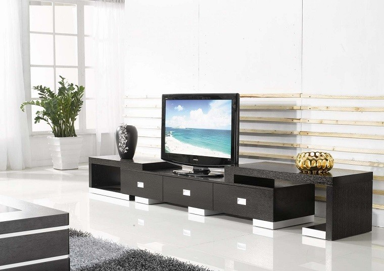 Muebles tv y bibliotecas para el sal n o sala de estar for Muebles para sala de tv