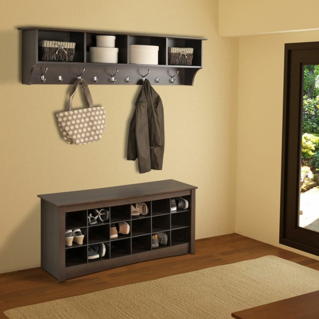 Muebles de entrada ideas que invitan a remodelar for Muebles para colocar zapatos