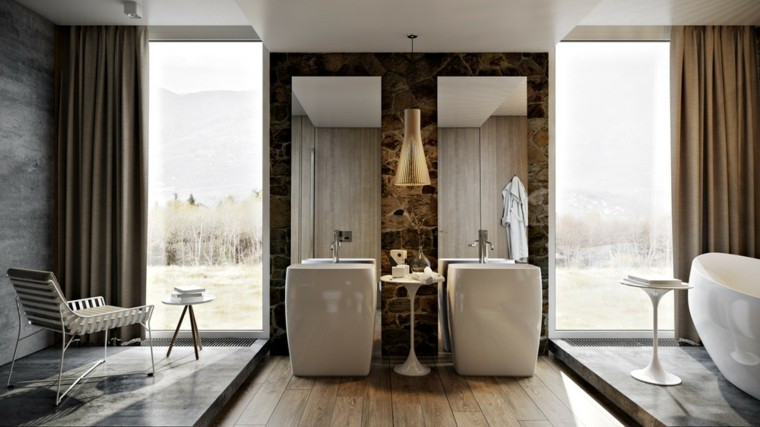muebles baño silla taburete vistas
