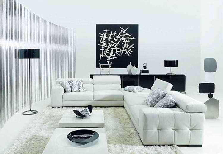muebles blanco diseño tendencias cuadro