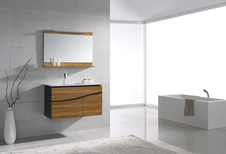 muebles de baño baratos modernos laminado