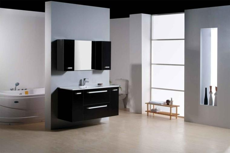 muebles de baño baratos lavabo negro